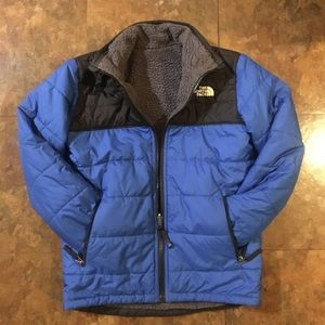 Boys Reversible North face Jacket